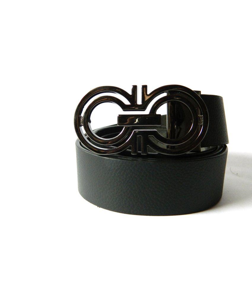 Moochief Black Leather Belt