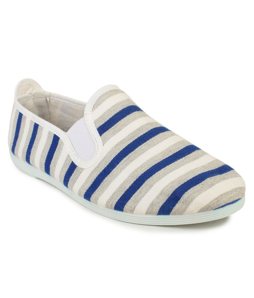 7c0723207d5c Scentra Blue Flat Almond Toe Rubber Casual Shoes for Women available at  SnapDeal for Rs.