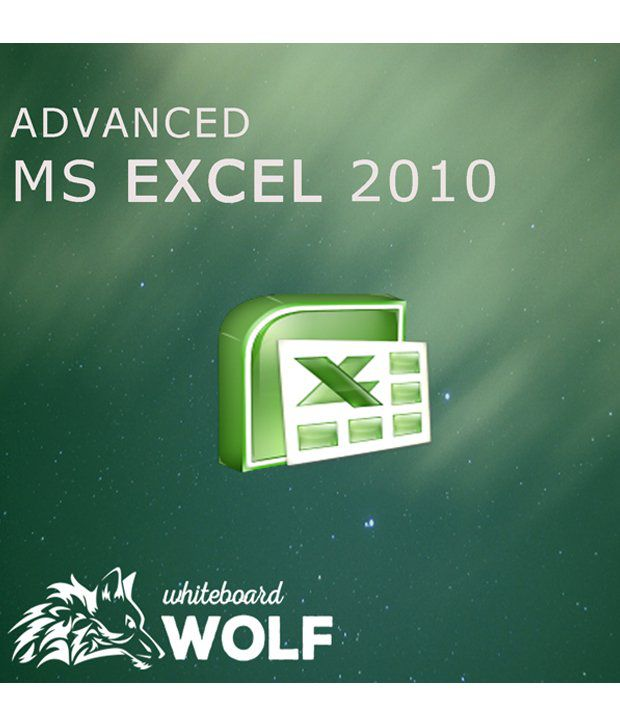 Learn Advanced Microsoft Excel 2010 Online Certified Course with Whiteboard  Wolf (50+ Lecture)