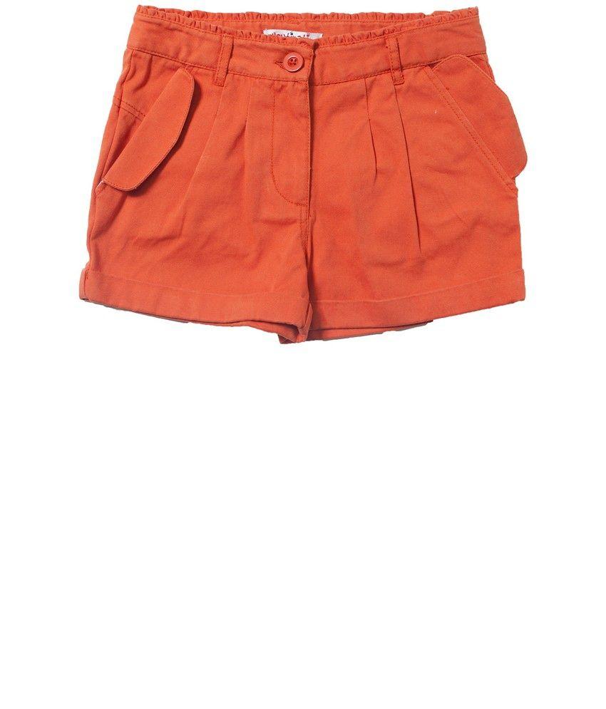 Nauti Nati Dark Rust Girls Shorts