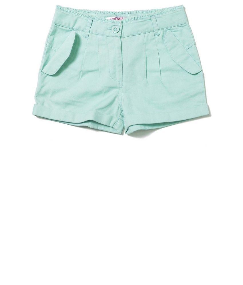 Nauti Nati Turq Girls Shorts
