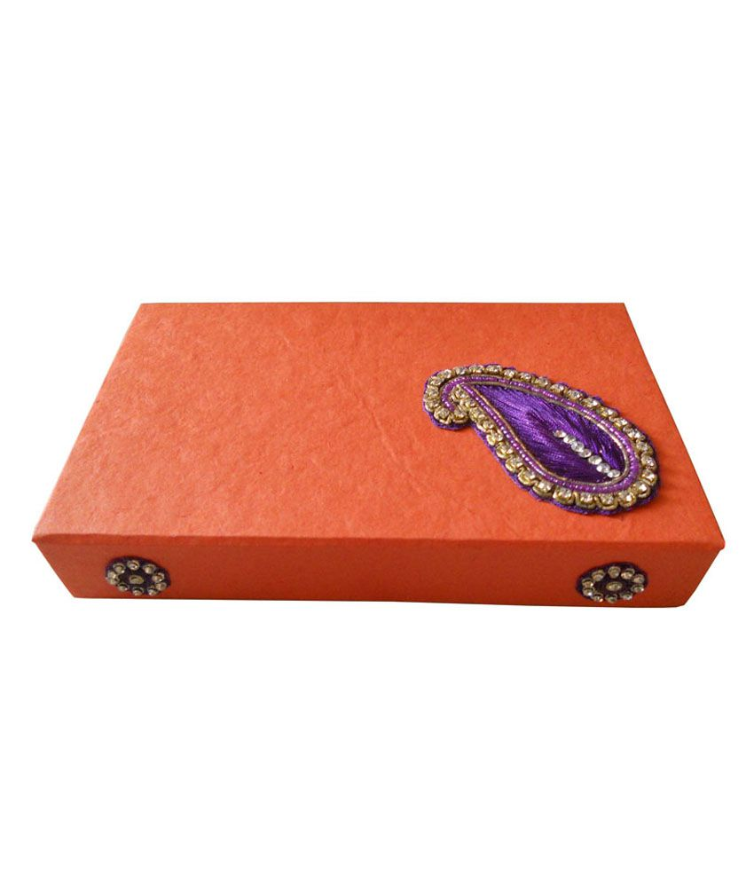 Zigzag Paperworks Multicolour Designer Jewellery Box