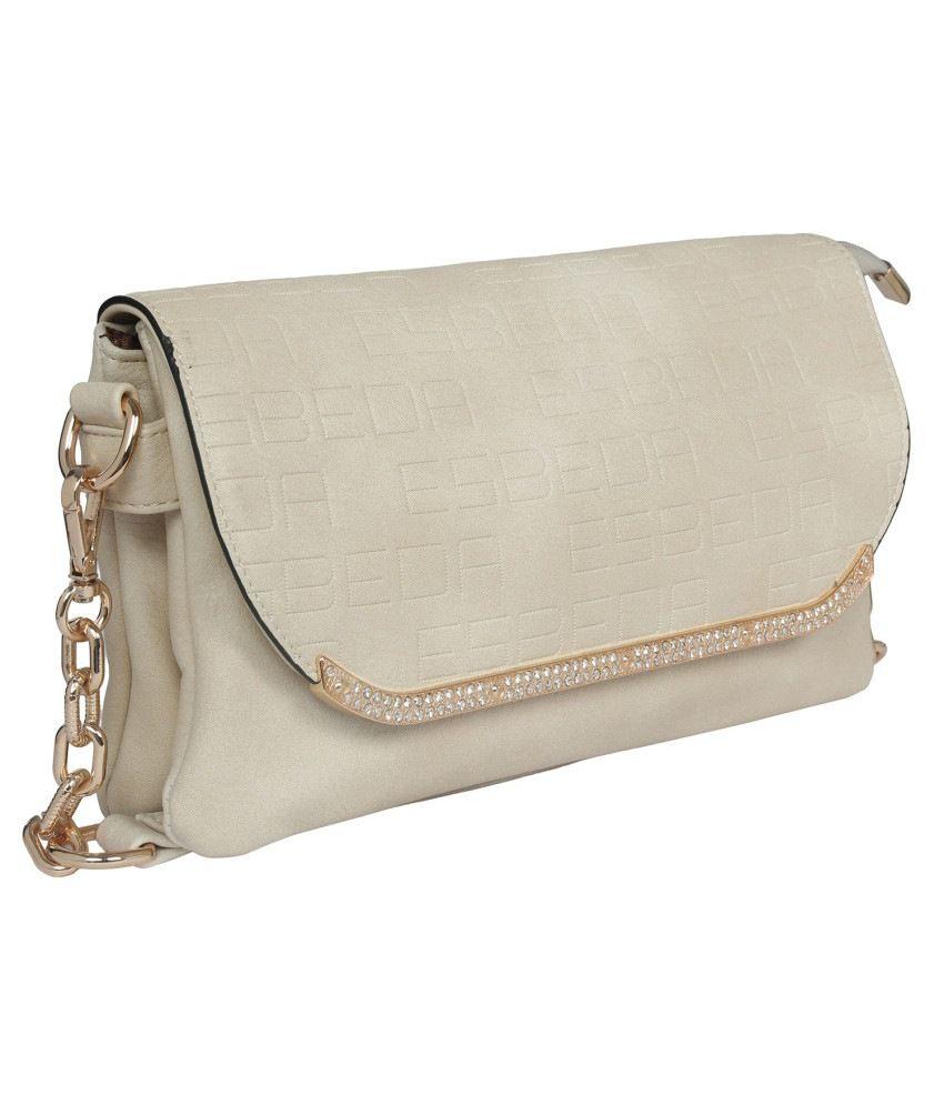 Esbeda ESBD2133BEIGE Beige Sling Bags - Buy Esbeda ESBD2133BEIGE ...