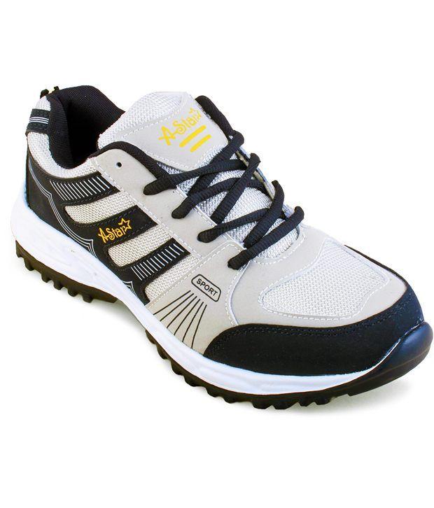 Zapatoz Black Sports Shoes