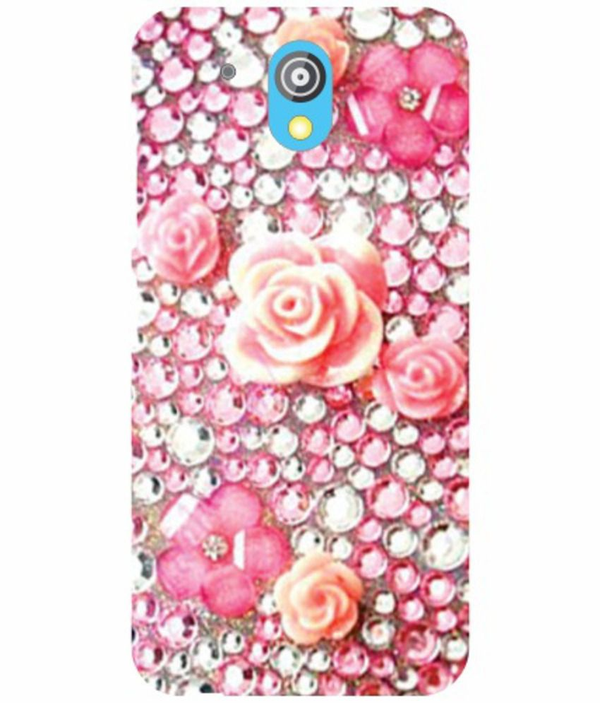 outlet store 9e309 1b20a HTC Desire 526G Plus Phone Cover Color Printed Back Covers by Printland-