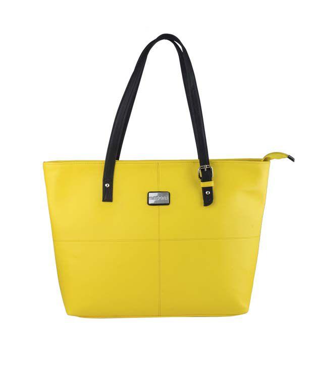Stylathon Yellow Handbag