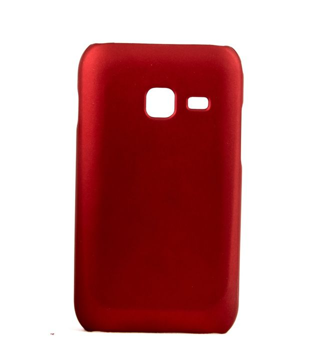 Video Tronix Hard Back Case Cover For Samsung Galaxy Ace Duos S6802 - Red