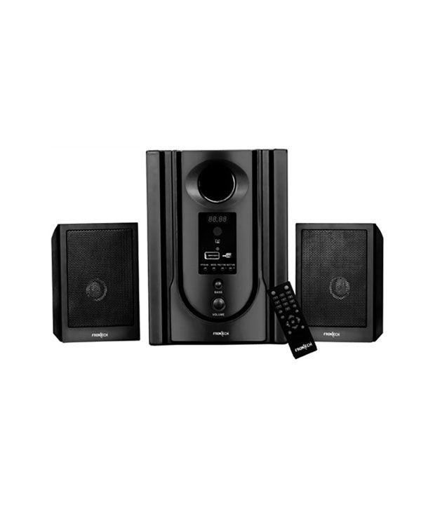 Frontech Jil-3365 100-300 W Sound Output Mp3 Player Soundbase Home Theatre System With Remote - Black