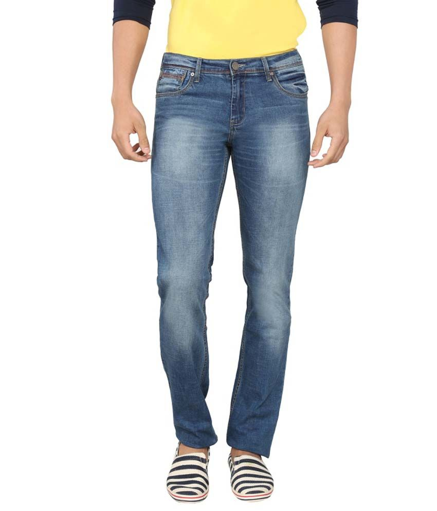 Live In Blue Skinny Jeans