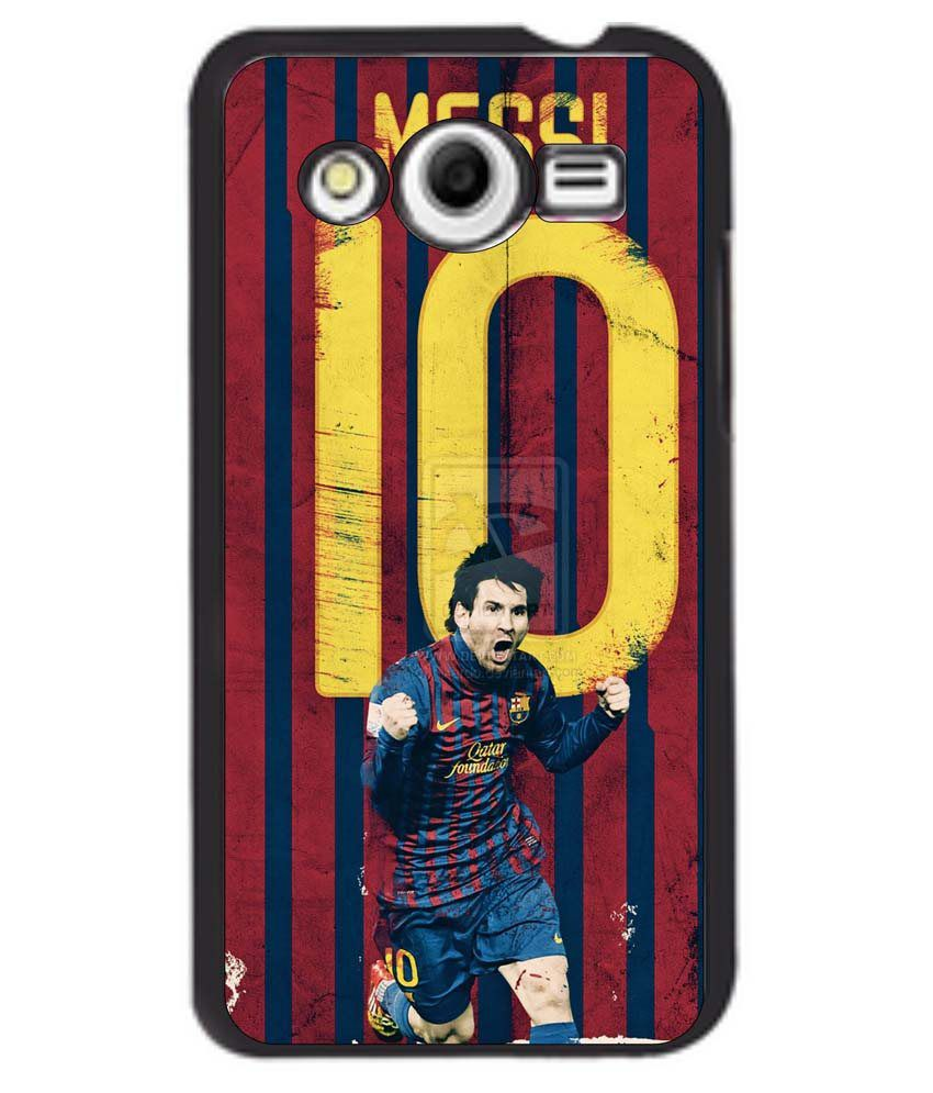 meet 8856b 31bfb Dot Print Back Cover For Samsung Galaxy Core 2 Messi Jersey Printed Case