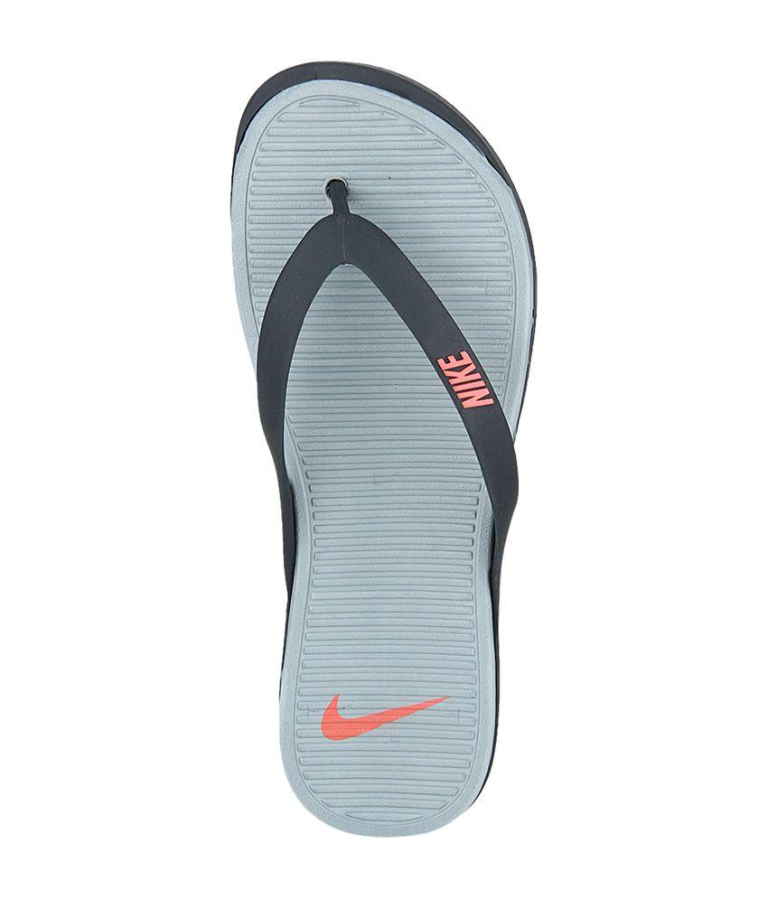 watch ddfdd d9ebb Nike Gray Matira Rubber Men Slippers