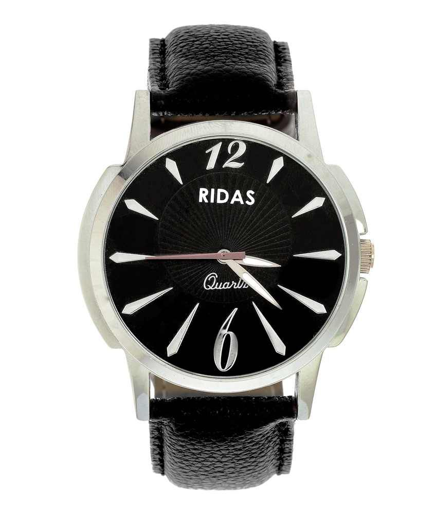 Ridas Black Sports Casual Men Watch