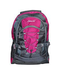 Attache Pink School Backpack