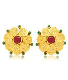 79c49c6ef Quick View. Sukkhi Gorgeous Gold Plated Temple Jewellery Coin Earring For  Women ...