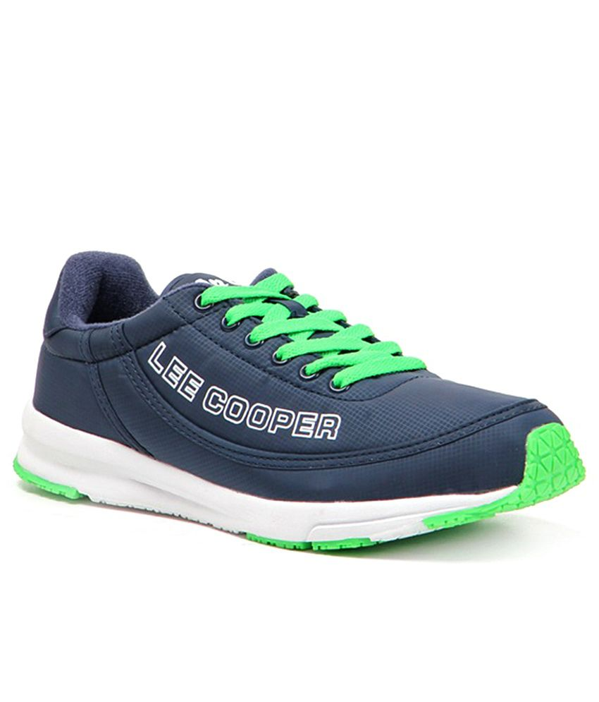 Lee Cooper Sports Navy Sport Shoes
