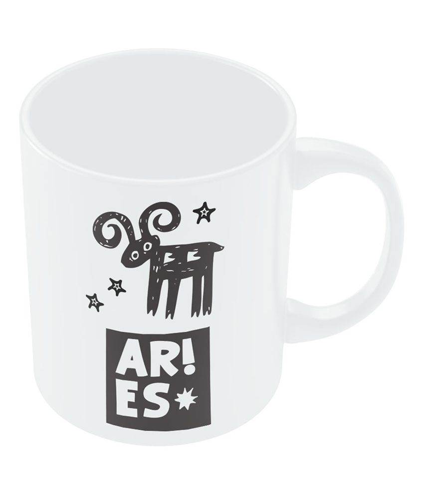PosterGuy Aries | Zodiac Sign Gifts For Friends & Family Coffee Mug
