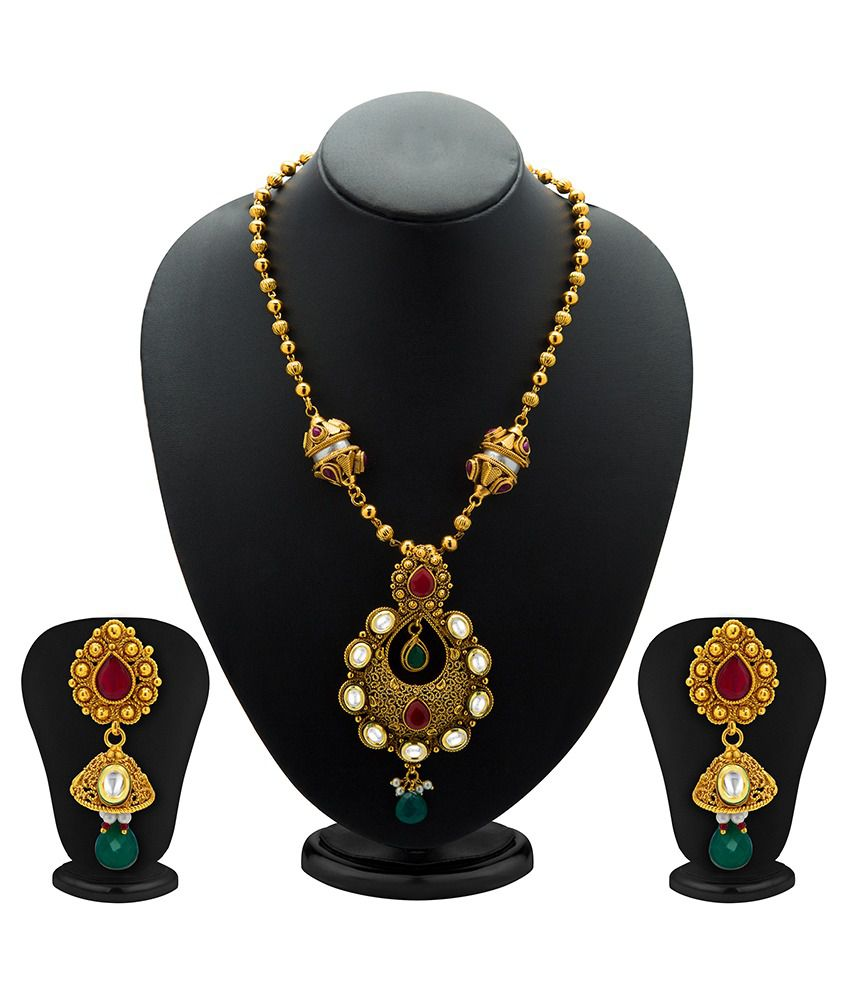 Sukkhi Astounding Antique Necklace Set