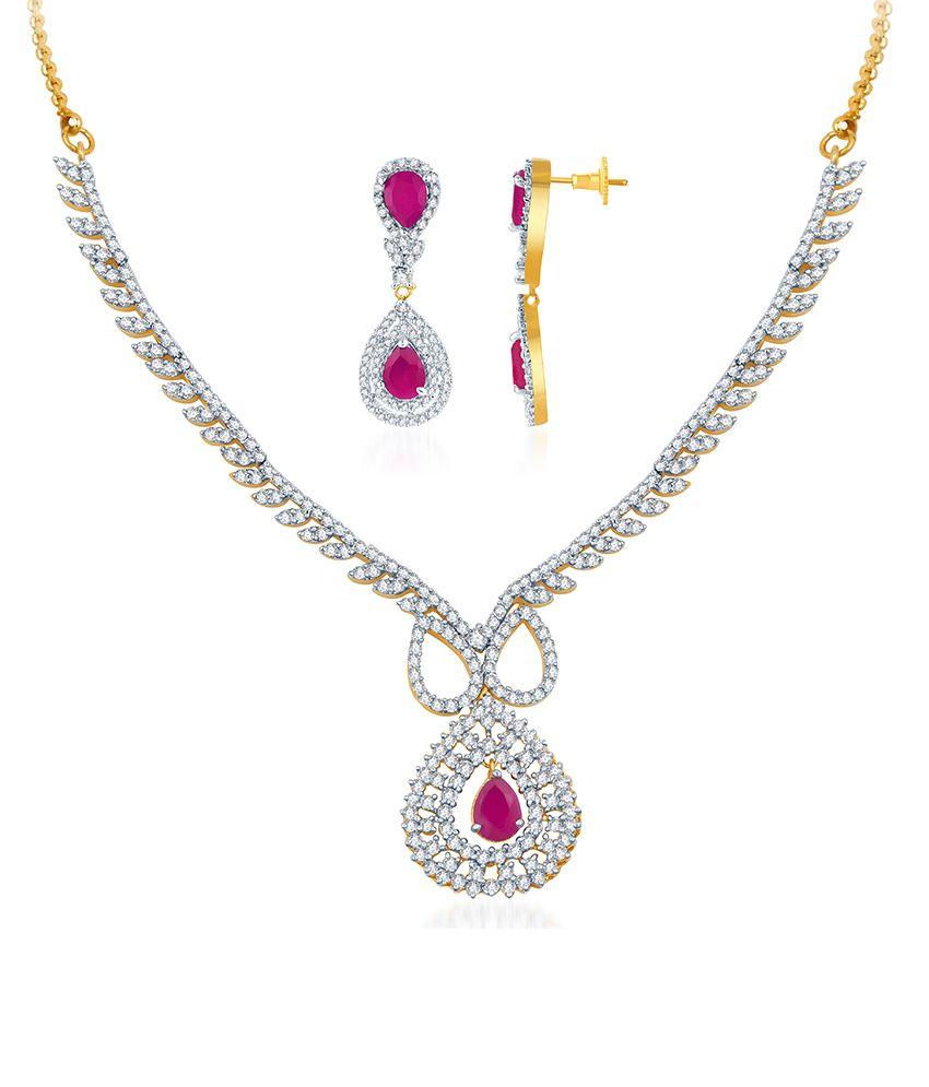 Sukkhi Gorgeous CZ Necklace Set