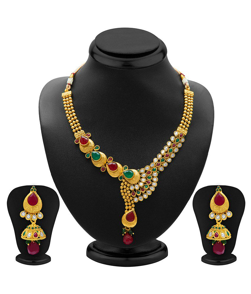 Sukkhi Magnetizing Antique Necklace Set