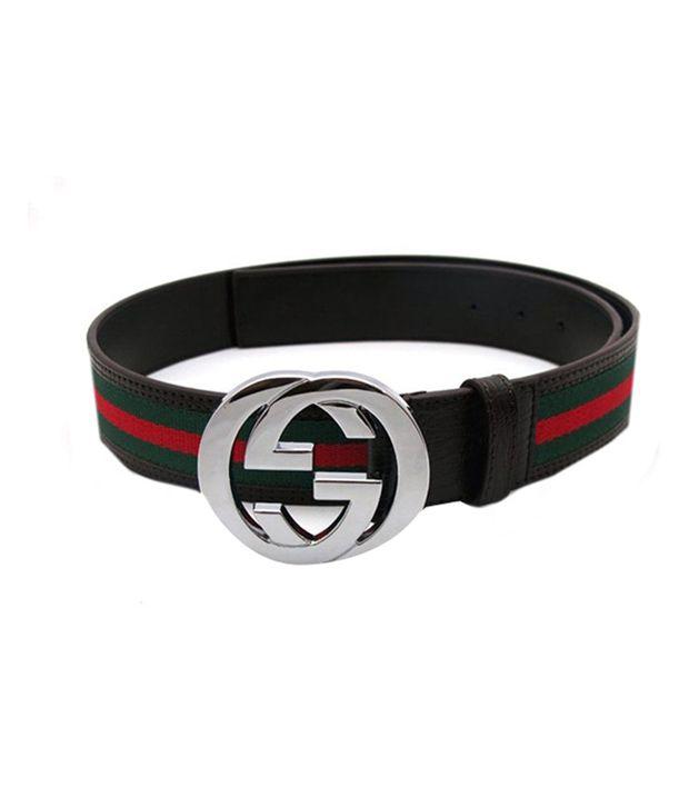 Branded Belt Red Non Leather Belt