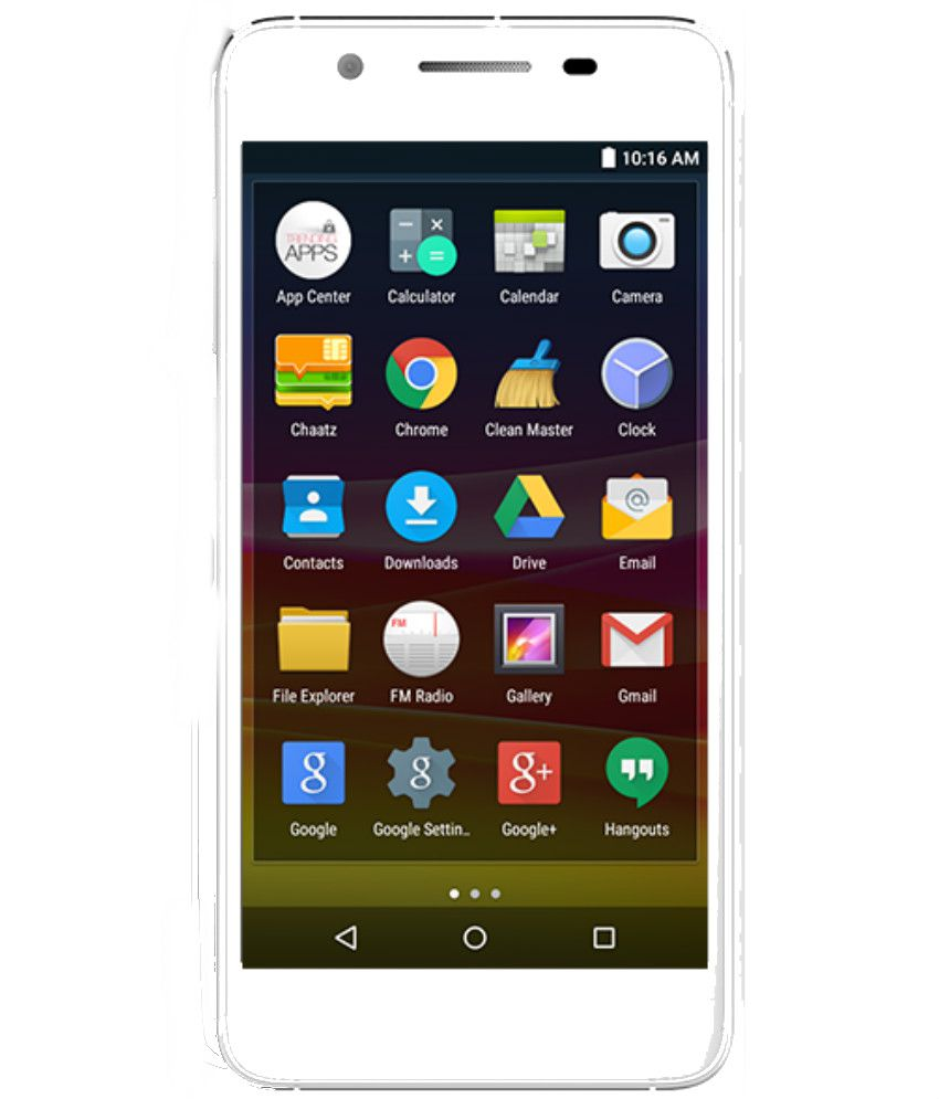 Micromax ( 16GB , 2 GB ) White