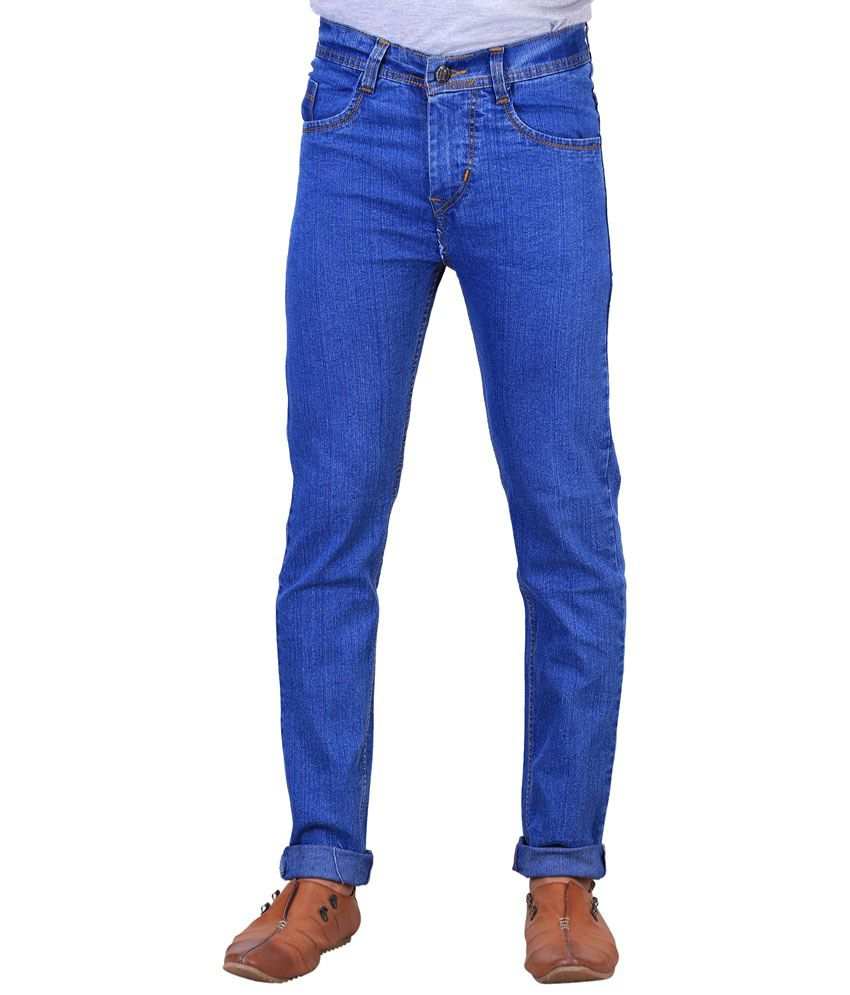 X-Cross Cool Blue Jeans For Men