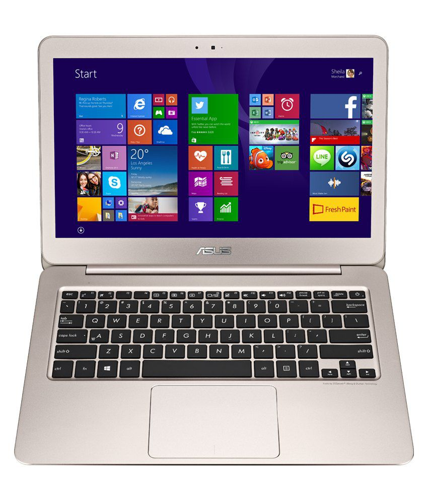 Asus Zenbook UX305FA (Intel Core M- 4GB RAM- 256GB SSD- 33.7 cm (13.3)- Windows 8.1) (Gold)