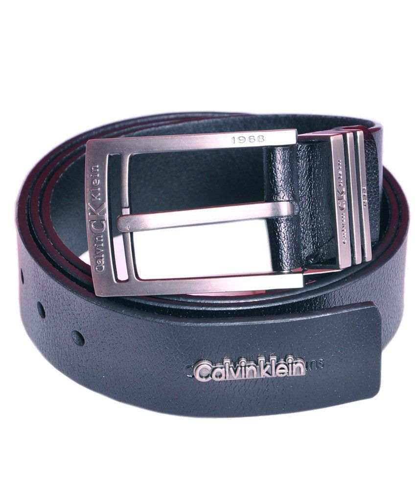 Calvin klein Black Belt