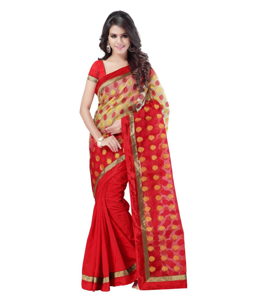 869e37ad88b6a Weavedeal Banarasi Silk Brocade Saree With Exclusive Blouse Piece - Buy  Weavedeal Banarasi Silk Brocade Saree With Exclusive Blouse Piece Online at  Low ...