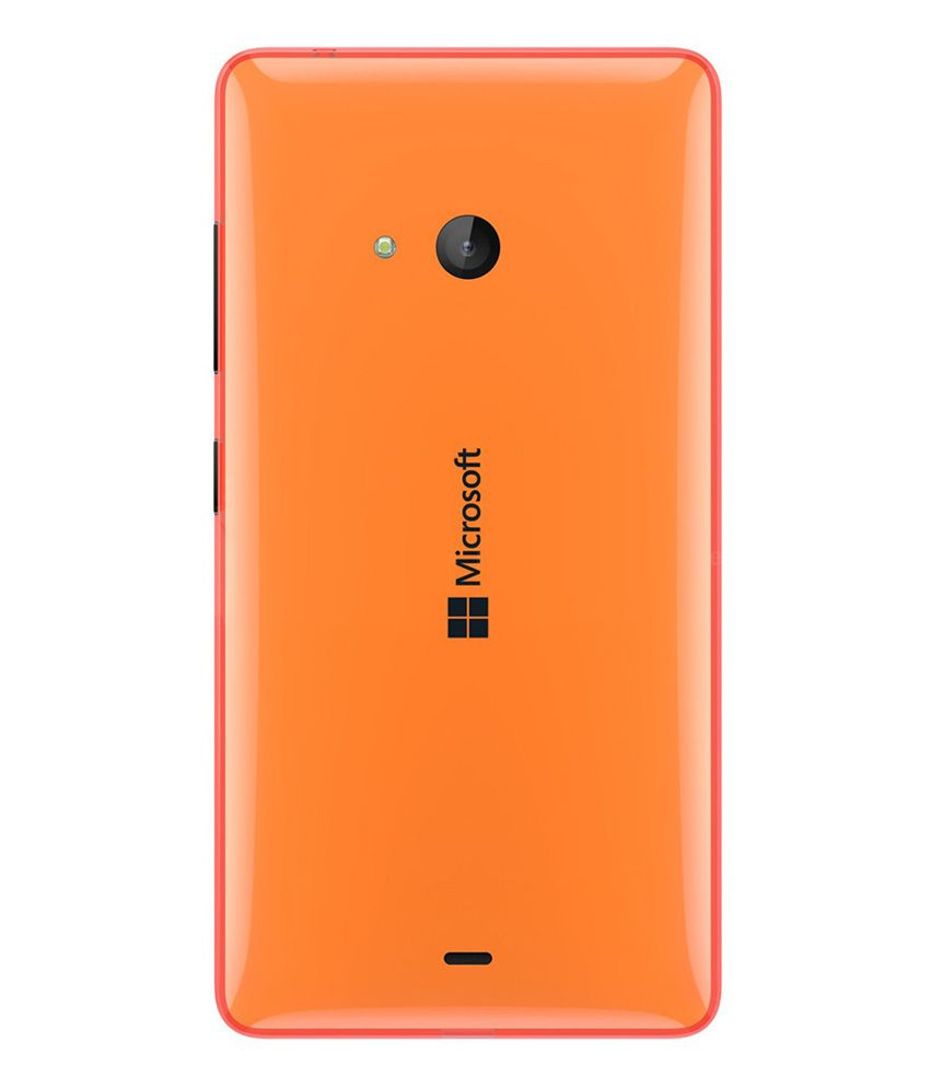 huge discount aa746 33ed8 Microsoft Lumia 540 Original Back Panel - Orange