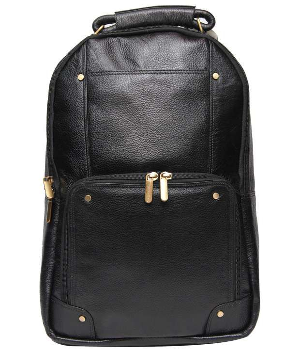 C Comfort Black Backpack
