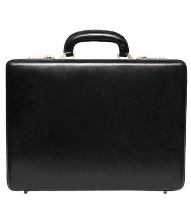 C Comfort Black Briefcase