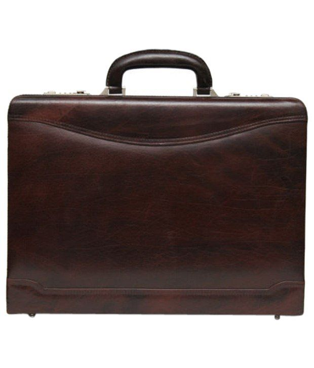 C Comfort Brown Briefcase