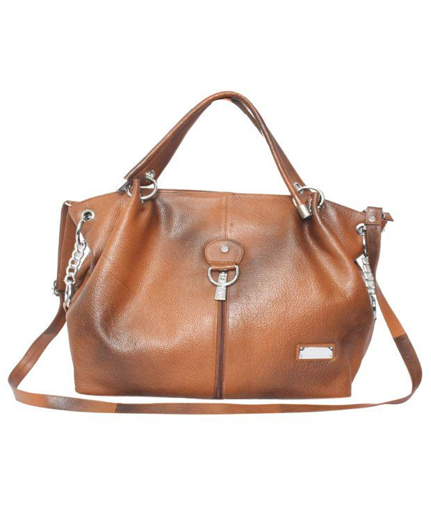 C Comfort Tan Brown Shoulder Bag