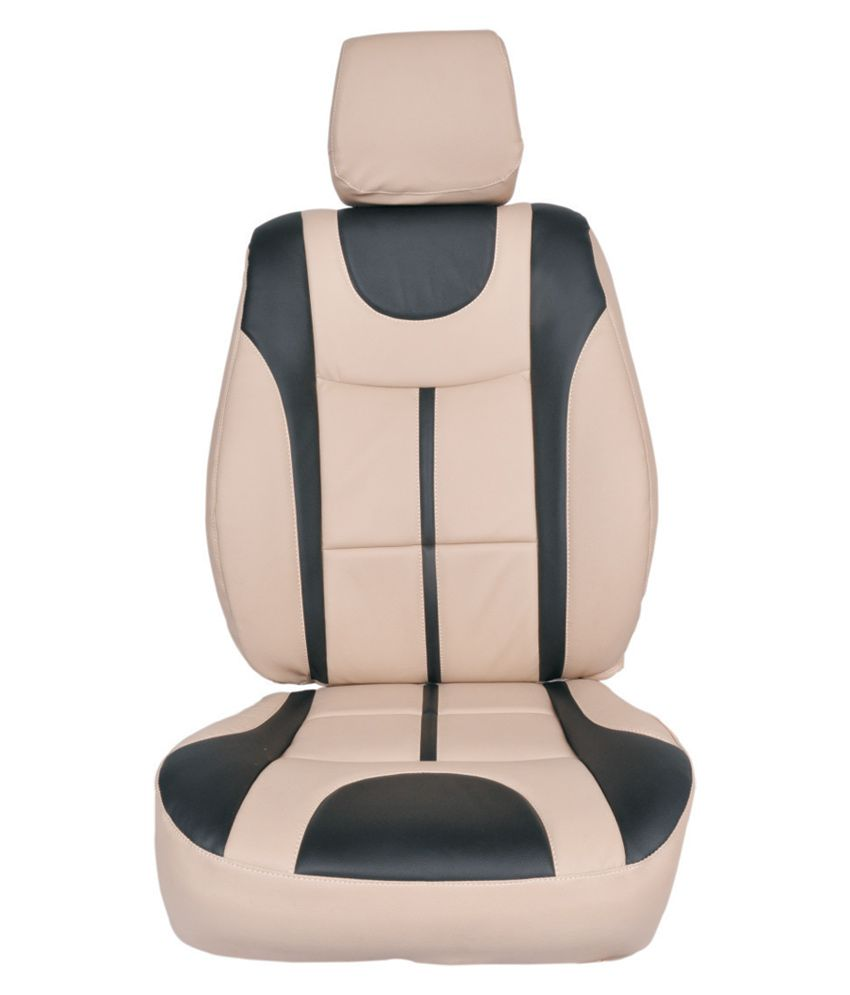 Appeal Car Seat Cover For Honda City Zx U Plus Design In Beige With