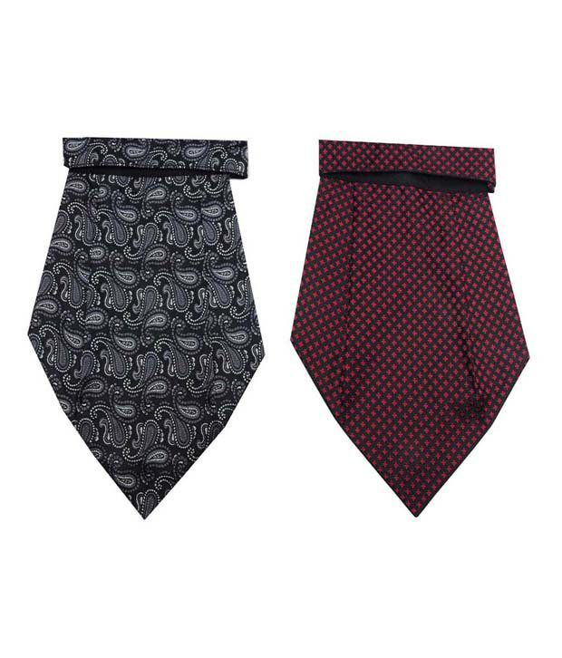 Leonardi Micro Fiber Cravat Combo for Men