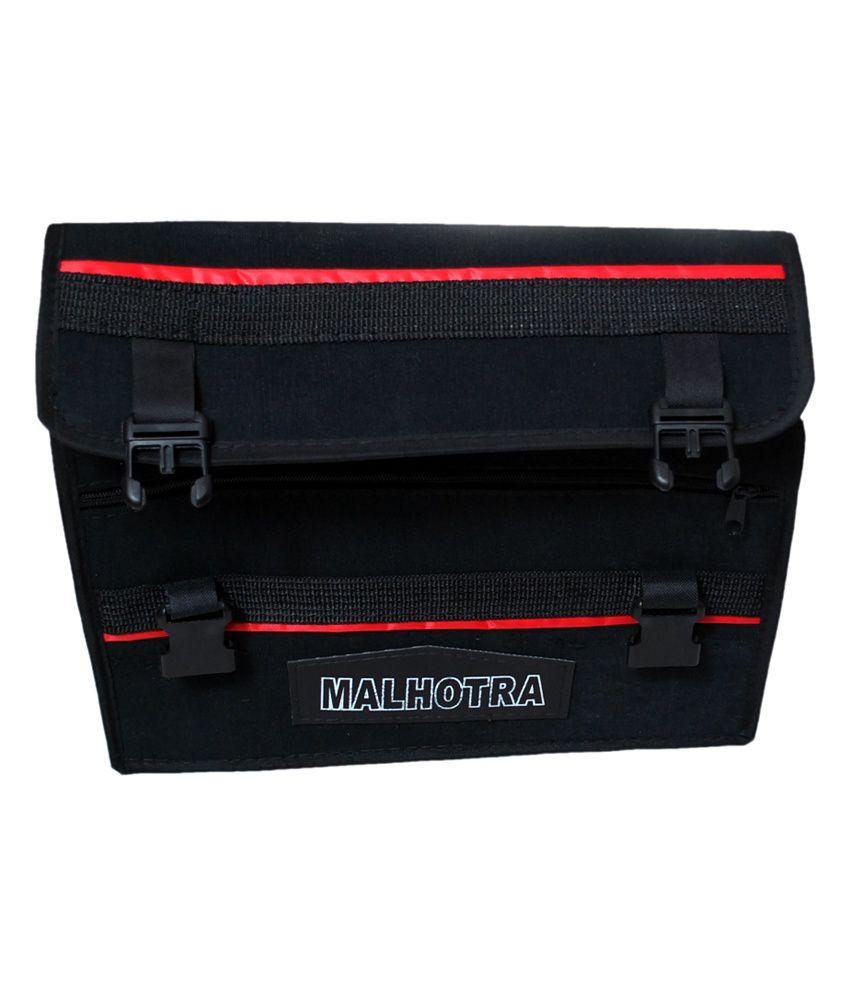 Malhotra Bike Side Bag - Black