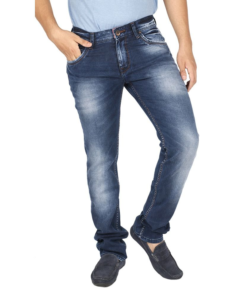Texas Blue Cotton Jeans