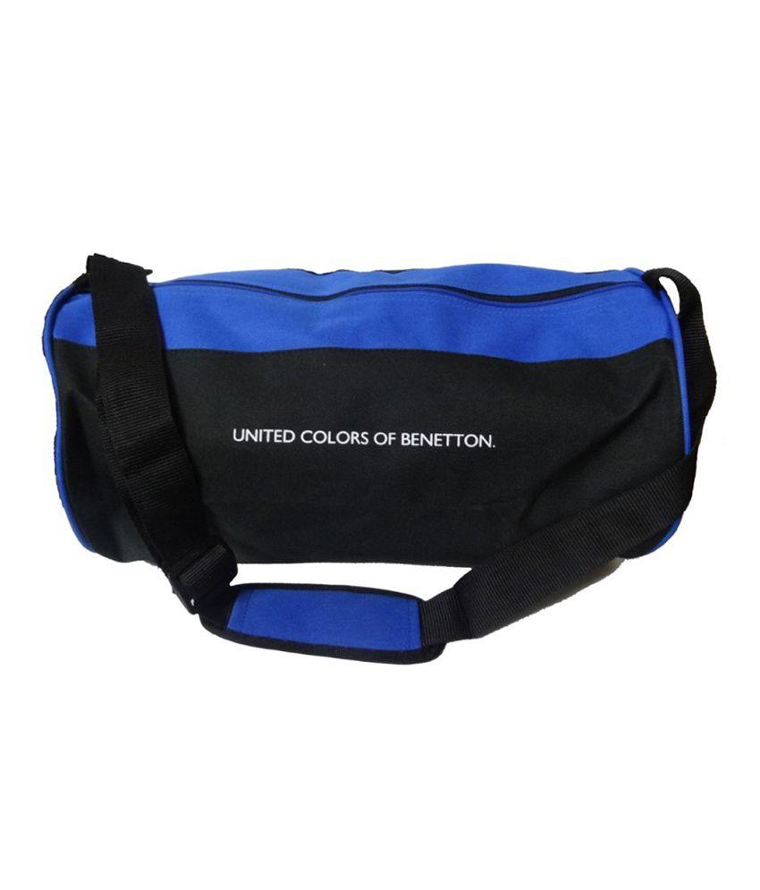 Gym Bag Next: UCB Black & Blue Gear Gym Bag