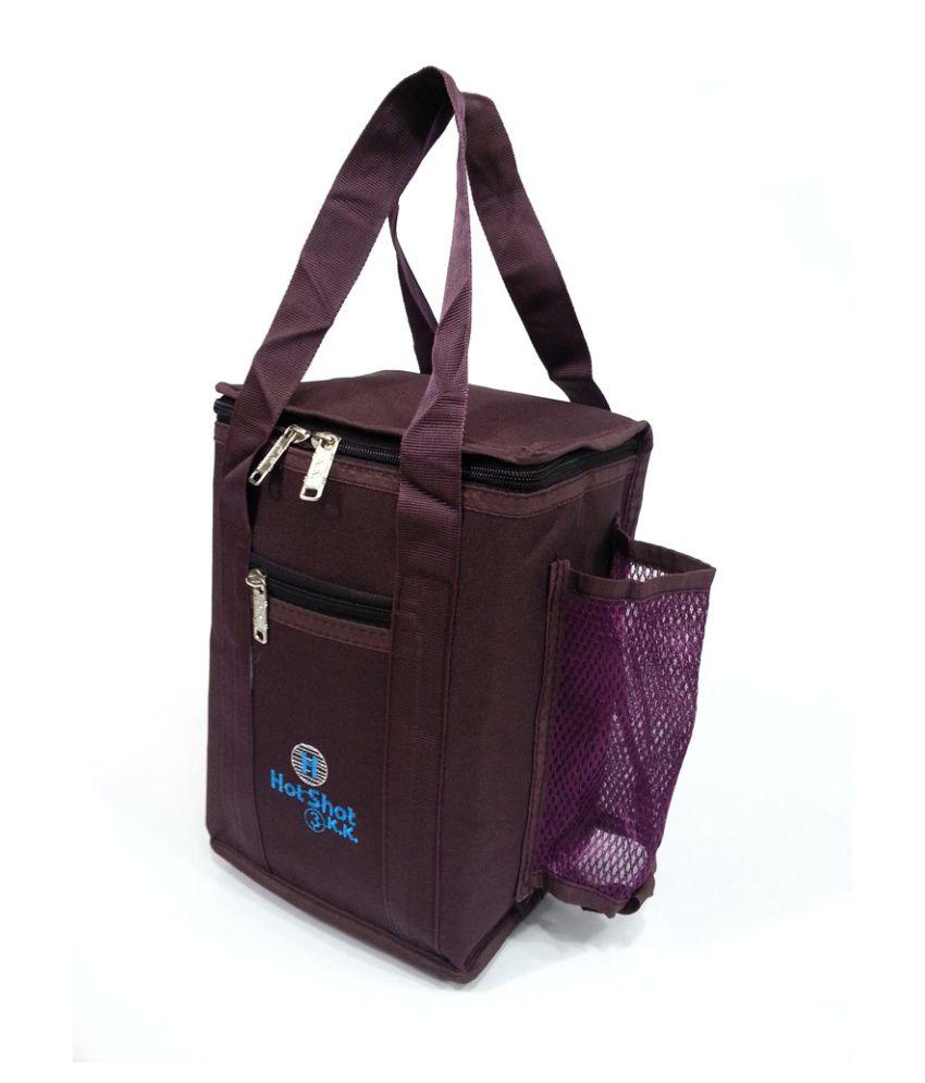 Belladona Purple Lunch Bag