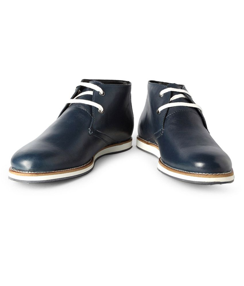 0b3a53bc6 Allen Solly Blue Boots - Buy Allen Solly Blue Boots Online at Best Prices  in India on Snapdeal