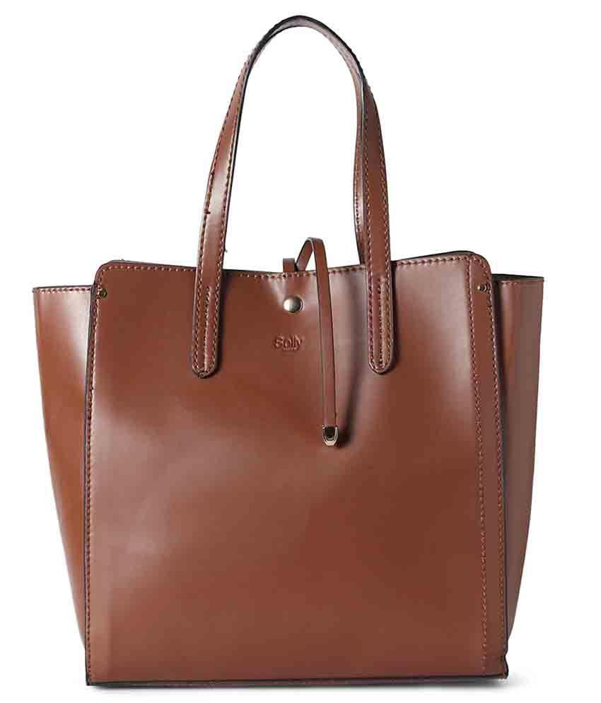 Allen Solly Brown Formal Handbags - Buy Allen Solly Brown Formal Handbags  Online at Best Prices in India on Snapdeal ead9b0403a9d3