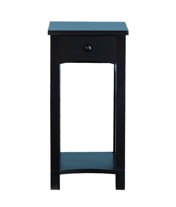 Lambok Side Table in Black