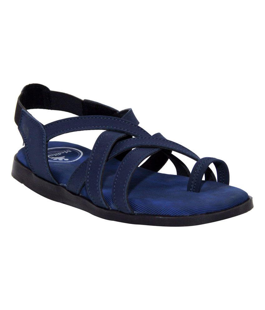 office sleeper. Medifeet Blue Leather Office Sandals Sleeper Q