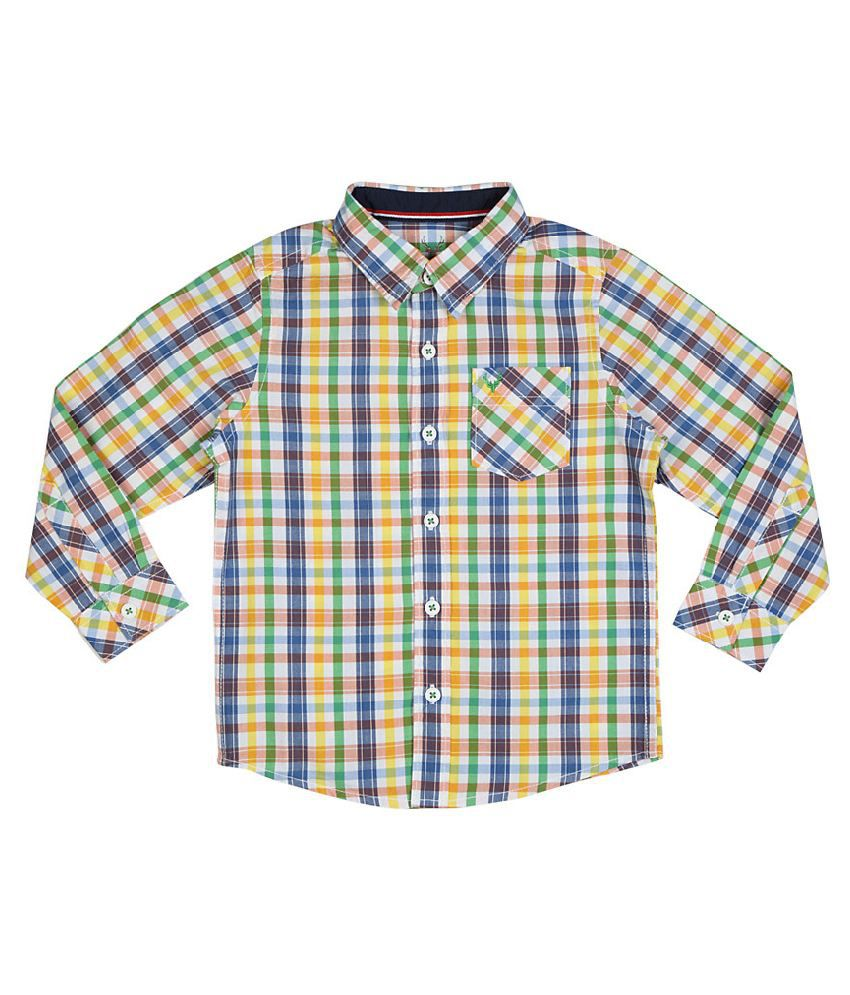 5867339dc6 Allen Solly Multicoloured Checked Shirt - Buy Allen Solly Multicoloured  Checked Shirt Online at Low Price - Snapdeal