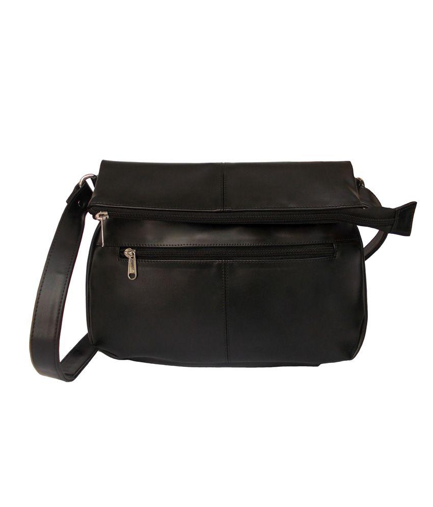 Feliza Black Sling Bag