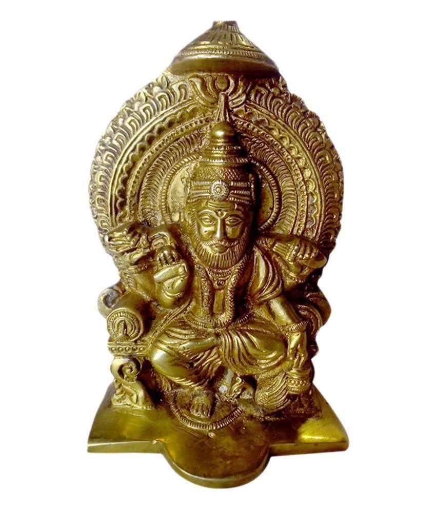 Vyom Shop Handcrafted Brass Vishvakarma