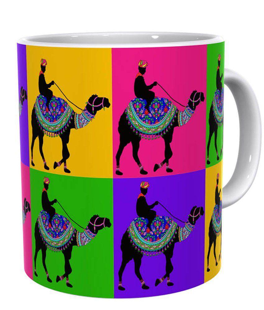 Kolorobia Vintage Camel Mug