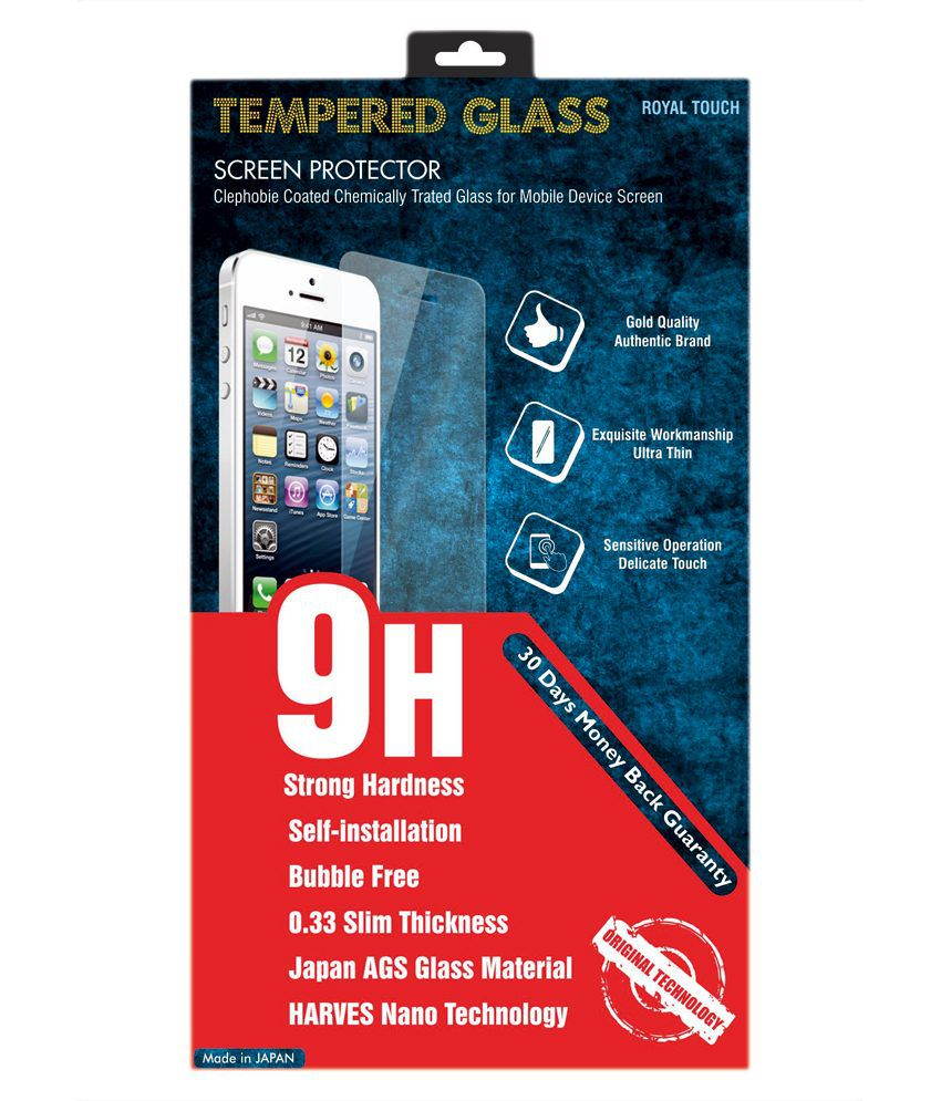 Royal Touch Tempered Glass Screen Guard For Motorola Moto G