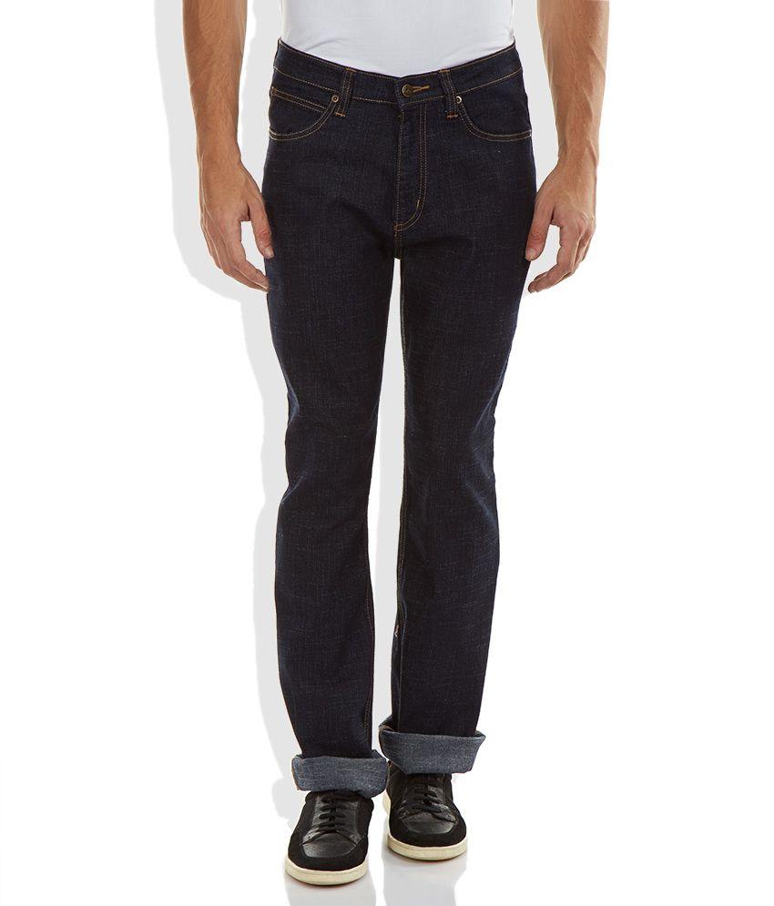 Lee Blue Regular Fit Jeans